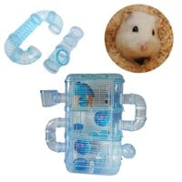 Hamster Exercise Cage DIY Pipeline Tunnel Fittings