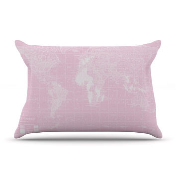 "Catherine Holcombe ""Her World"" Pillow Case"