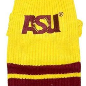 Arizona State University Sun Devils Pet Sweater LG