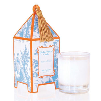 Seda France Pagoda Candle - French Tulip (10 oz)