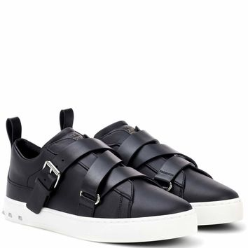 Valentino Garavani Soul Rockstud leather sneakers