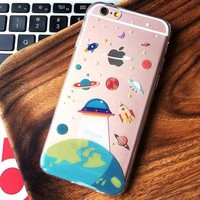 Perfect Cute Cartoon Pattern iPhone 6 6s 6Plus 6sPlus 7 7 Plus Phone Cover Case