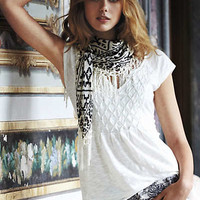 Anthropologie - Prism Stitched Tee
