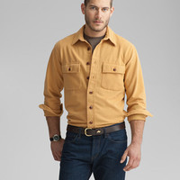 1933 Chamois Cloth Shirt: SHIRTS | Free Shipping at L.L.Bean