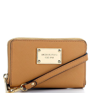 MICHAEL Michael Kors Zip-Around iPhone Wristlet | Dillards.com