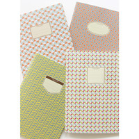 Paperian Story on geometric pattern file folder