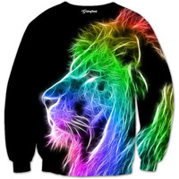 Digital Lion Crewneck