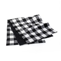 96 IN B&W BUFFALO CHECK RUNNER
