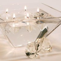Diamond Gel Candle Set  | Under-10 | Gifts | Z Gallerie