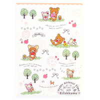 Buy San-X Rilakkuma A4 Clear File Cream Forest Montage at ARTBOX