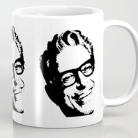 Jeff Goldblum' Smiling Perfect Face on a Mug