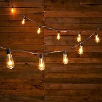Edison Style Bulb String Lights Rustic Patio Wedding Party Lighting Yard Decor