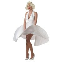 Marilyn Monroe Deluxe Costume - Adult (White)