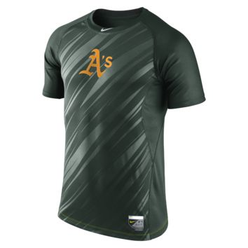 Nike Pro Core Speed Raglan Fitted 1.5 (MLB A's) Men's Shirt