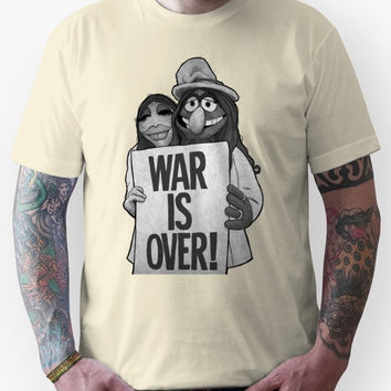 War Is Over (The Muppets / John Lennon) Unisex T-Shirt