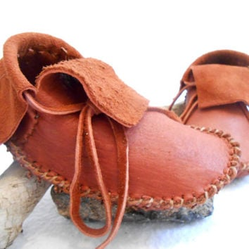 Short Moccasins, Traditional Native American Plains Style, Custom Made to Order, Handmade, Handsewn by Oglala Lakota, Powwow, Earthing Shoes