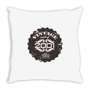 vintage made of 2001 all original parts Throw Pillow