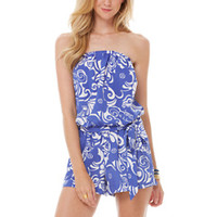 Colleen Pull-On Romper - Lilly Pulitzer