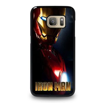 iron man 1 samsung galaxy s7 case cover  number 1