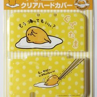 Sanrio Official Kawaii new3DS XL Hard Cover -Gudetama May I go back home?-