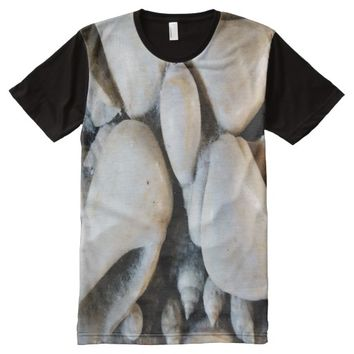 Vignette Seashells All-Over Print T-shirt