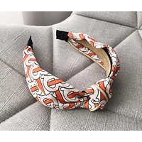 GUCCI & Burberry Fashion New Letter Floral Print Hair Clasp Leisure Accessories Women