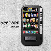Vending Machine iPhone 4 Case, iPhone 4s Case, iPhone 4 Cover, iPhone 4s Cover, iPhone Hard Case