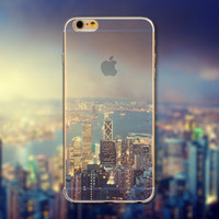 Downtown City Skyline Phone Case Cover for iPhone