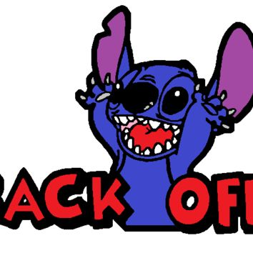 Stitch back off Decal 187#