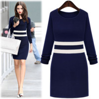 women dress autumn plus size clothes [9885207244]