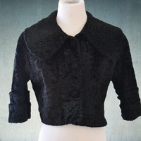 1960s Cropped Lambswool Jacket Tailored Woman New York Breakfast at Tiffany's