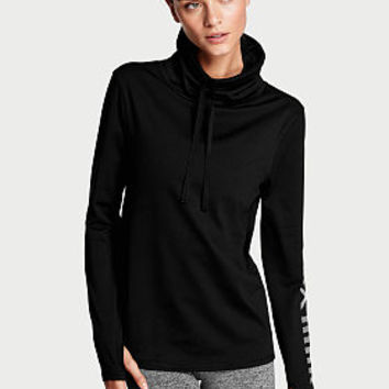 Graphic Funnel-neck Pullover - Victoria's Secret Sport - Victoria's Secret