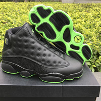 Air Jordan 13 Black/Green AJ13 Retro Basketball Shoes