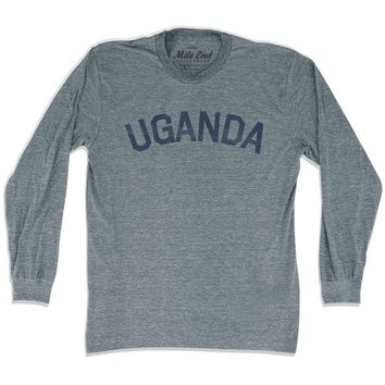 Uganda City Vintage Long Sleeve T-shirt