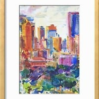 Central Park West, 2011 Giclee Print by Peter Graham at Art.com