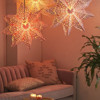 Lacy Cutout Star Paper Lantern | Urban Outfitters