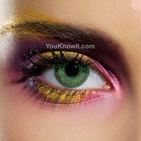 Natural Eyes Contact Lenses | EDIT Mystic Green Contact Lenses (Pair)
