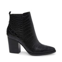 JUSTINA BLACK CROCODILE