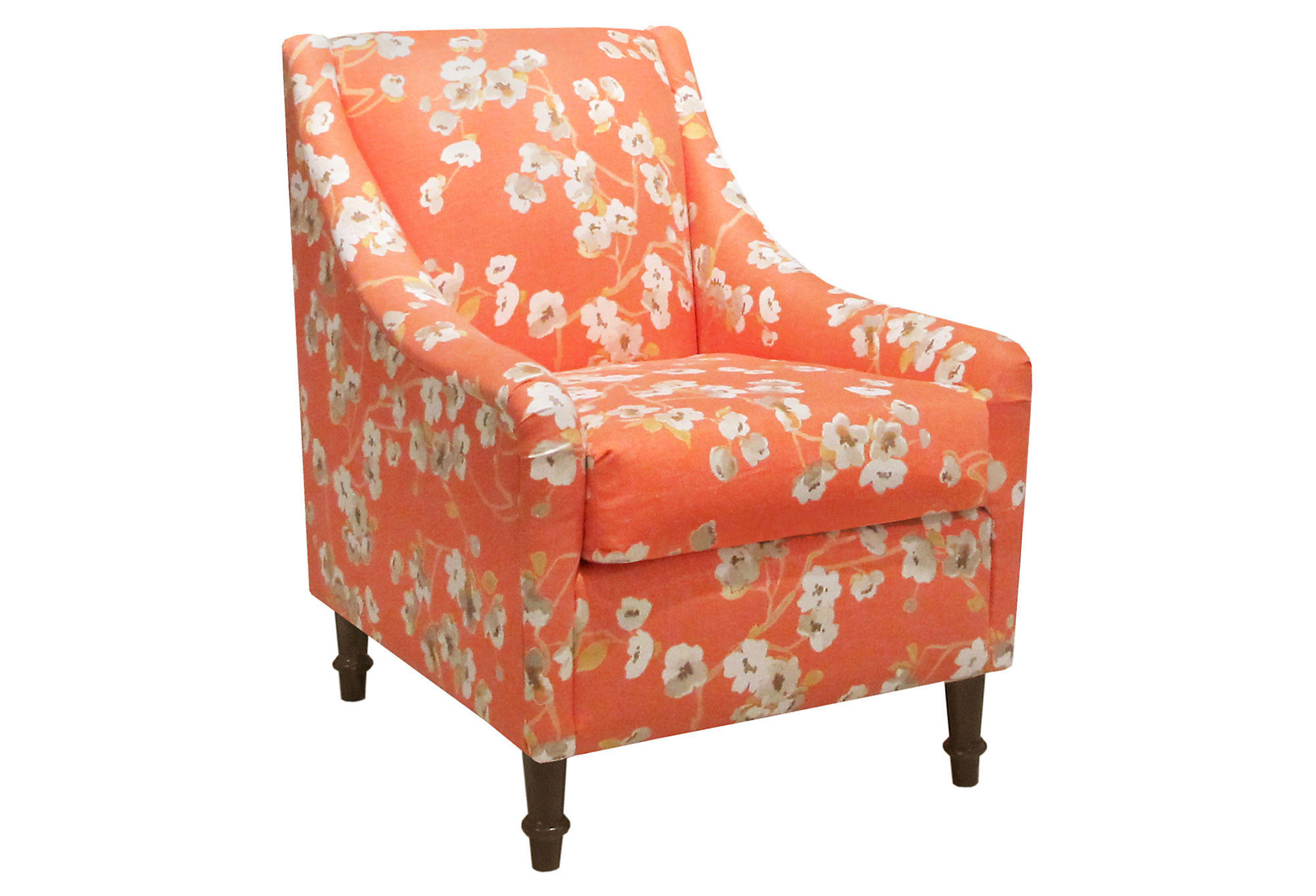 Holmes Accent Chair Orange Accent From One Kings Lane