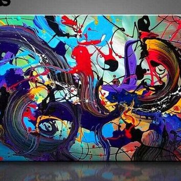 Large Hand Painted Abstract Canvas Wall Art Modern Oil Painting on Cnavas Contemporary Decor Artwork Home Decoration Unframed