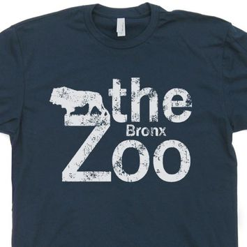 Brooklyn Zoo T Shirt Bronx Zoo Vintage New York City T Shirt
