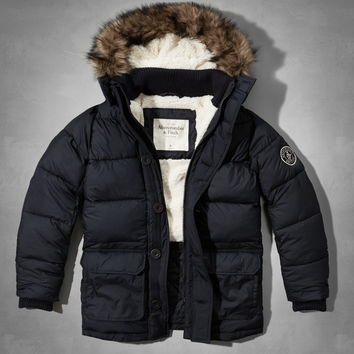 Panther Gorge Puffer Parka