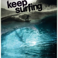"Keep Surfing Movie Poster #01 16""x24"""