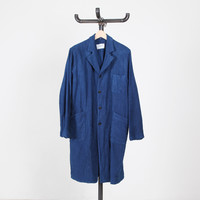 YAECA 'Write' Long Coat - Silver and Gold Online Store
