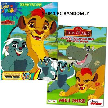 Disney The Lion Guard Giant Coloring & Activity Book- 1 PC