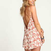 TROPICAL VACAY V CUT ROMPER