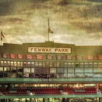 Vintage Fenway Park - Boston Print