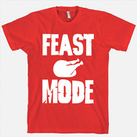 Feast mode funny Happy Thanksgiving Shirt. UGLY Holiday sweater Thanksgiving shirts. Funny Thanksgiving sweater. family Thanksgiving shirts