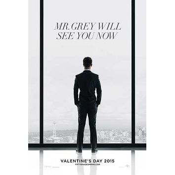 Fifty Shades of Grey 27x40 Movie Poster (2015)