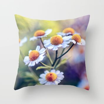 My Sunshine Throw Pillow by Kristopher Winter